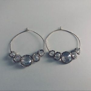 Anthropolgie Statement Hoop Earrings
